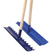 Concrete Rake and Placer