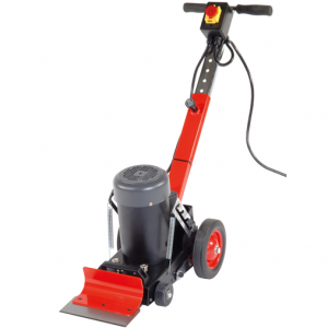 Electric powered floor stripper