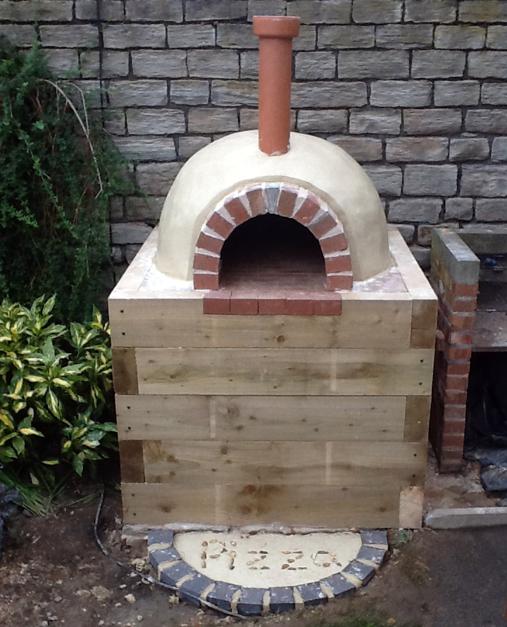 how to build a wood fire pizza oven fairport