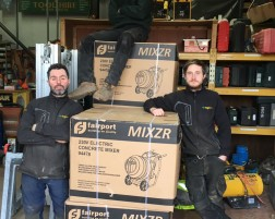 MIXZR'S First Deliveries